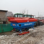 Distribuitor ingrasaminte Sulky X36 VISION, 3000 l /36 m, an2011