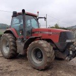 Tractor CASE MX 200, an 2003, AC, 8200 h, 4x4. Import 2021